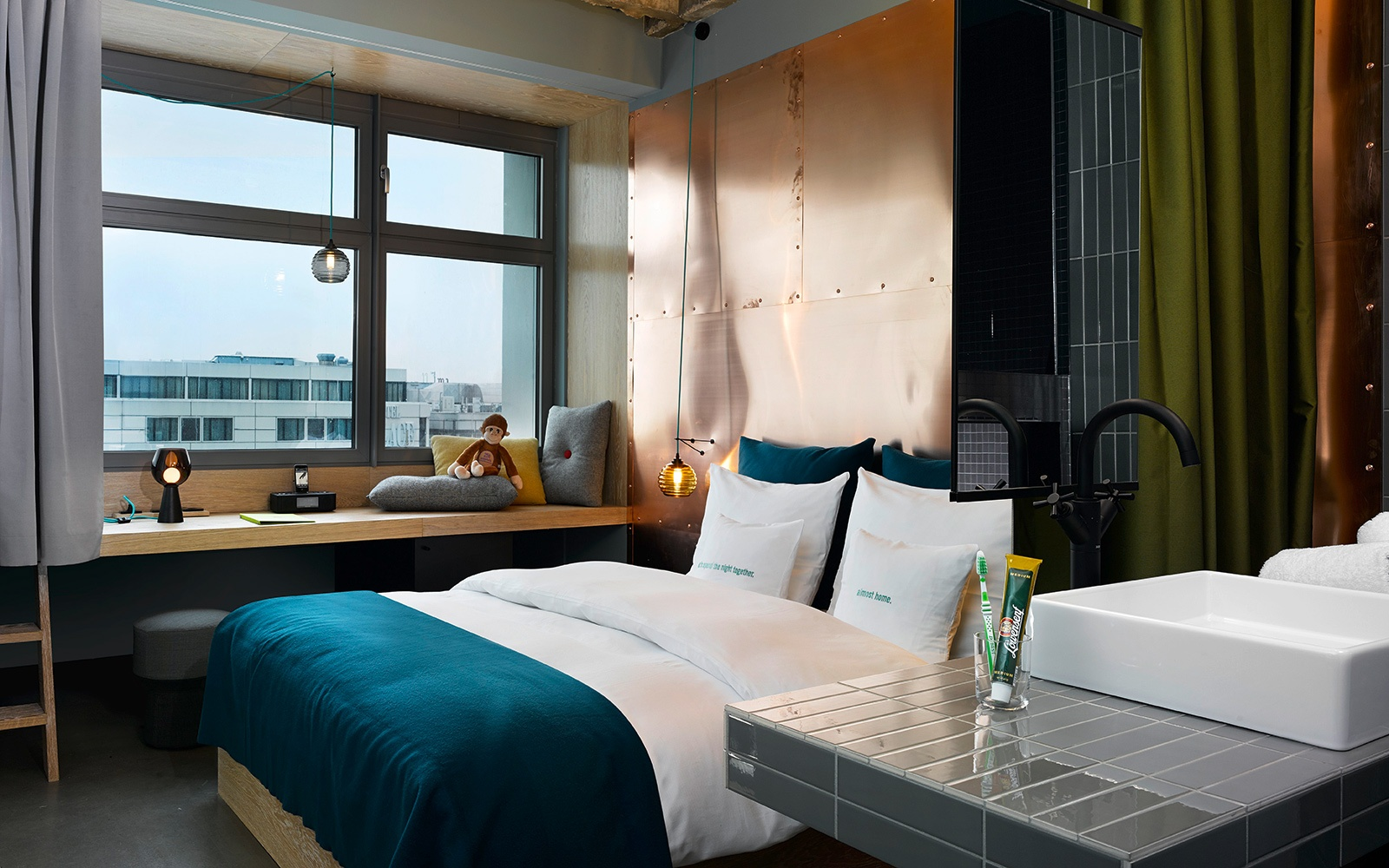 it list 2015 the best new hotels on the planet travel leisure. Black Bedroom Furniture Sets. Home Design Ideas