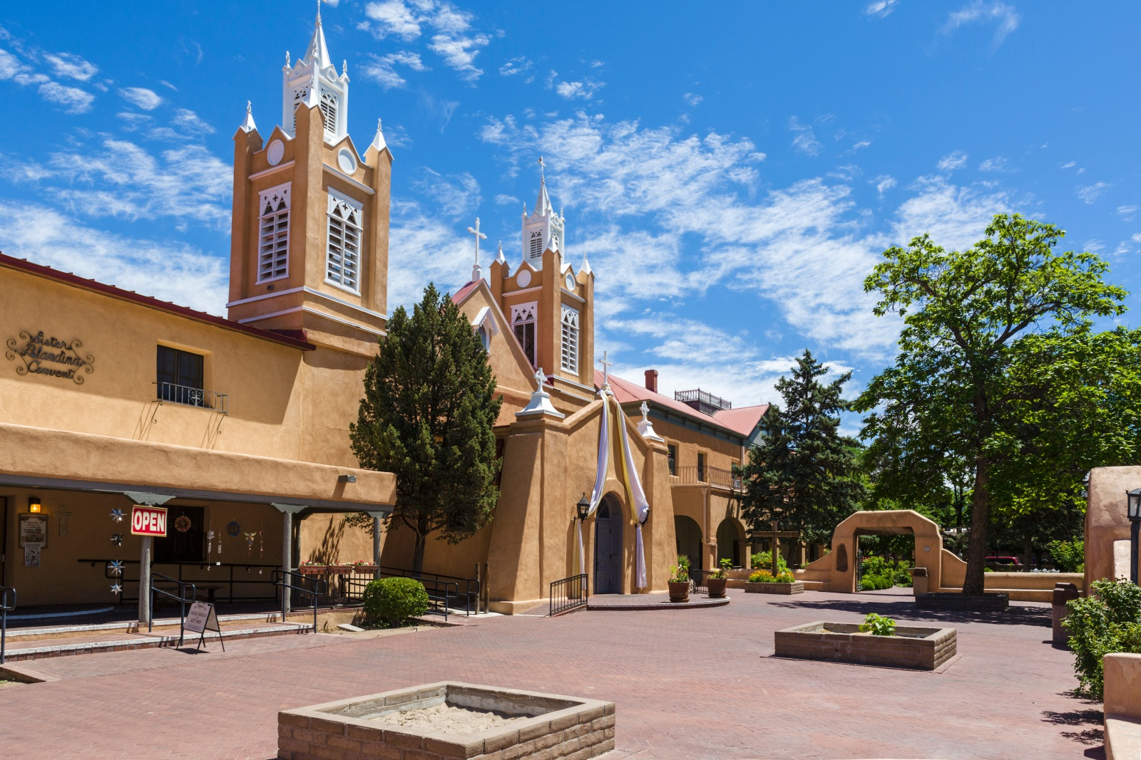 San Felipe de Neri Church in Albuquerque, New Mexico