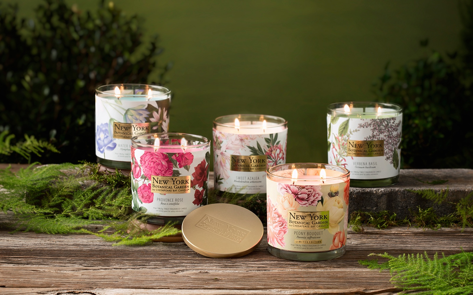 Chesapeake Bay Candle Partnership with NY Botanical Garden