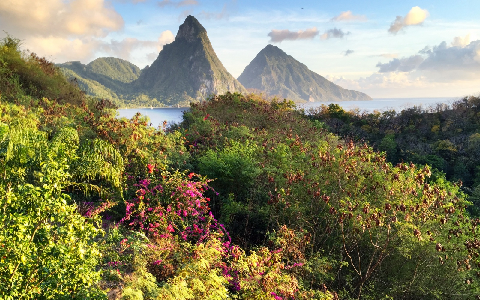 St. Lucia, scenic view