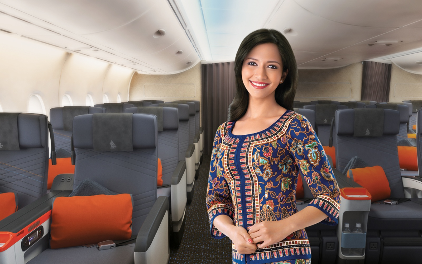 Singapore airlines is offering trips for 850 travel for The girl in the cabin