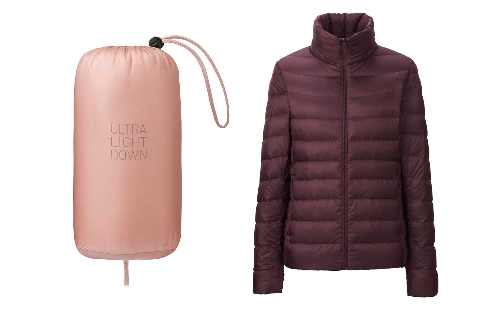 Uniqlo foldable jacket