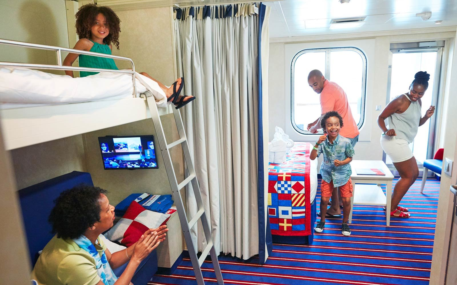 There's a Stateroom for Everybody