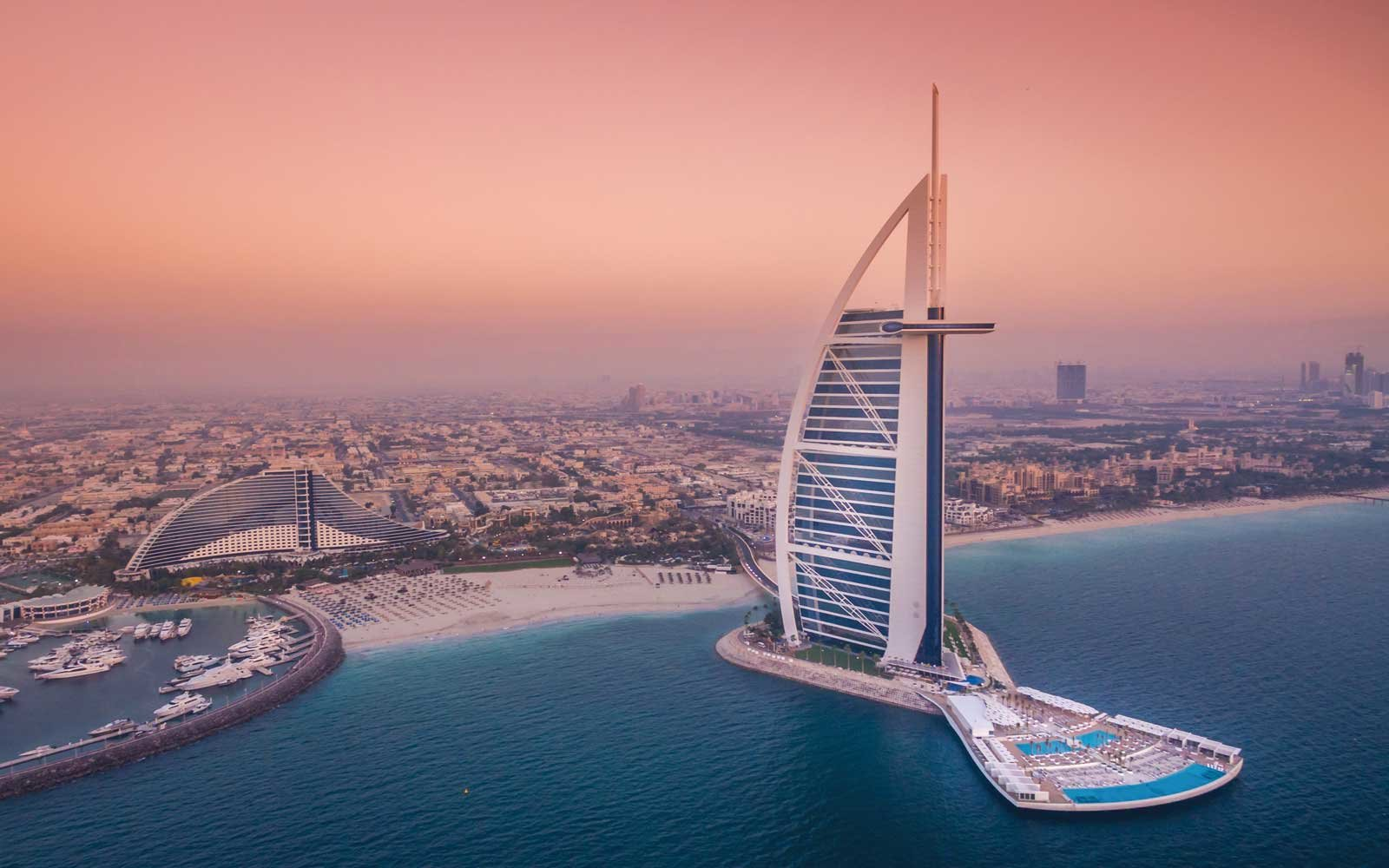 Burj Al Arab Jumeriah Hotel in North Africa and Middle East