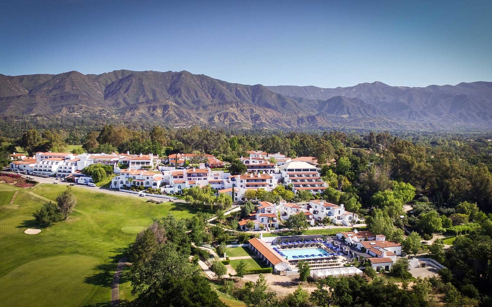 Ojai Valley Inn & Spa Resort Hotel in California