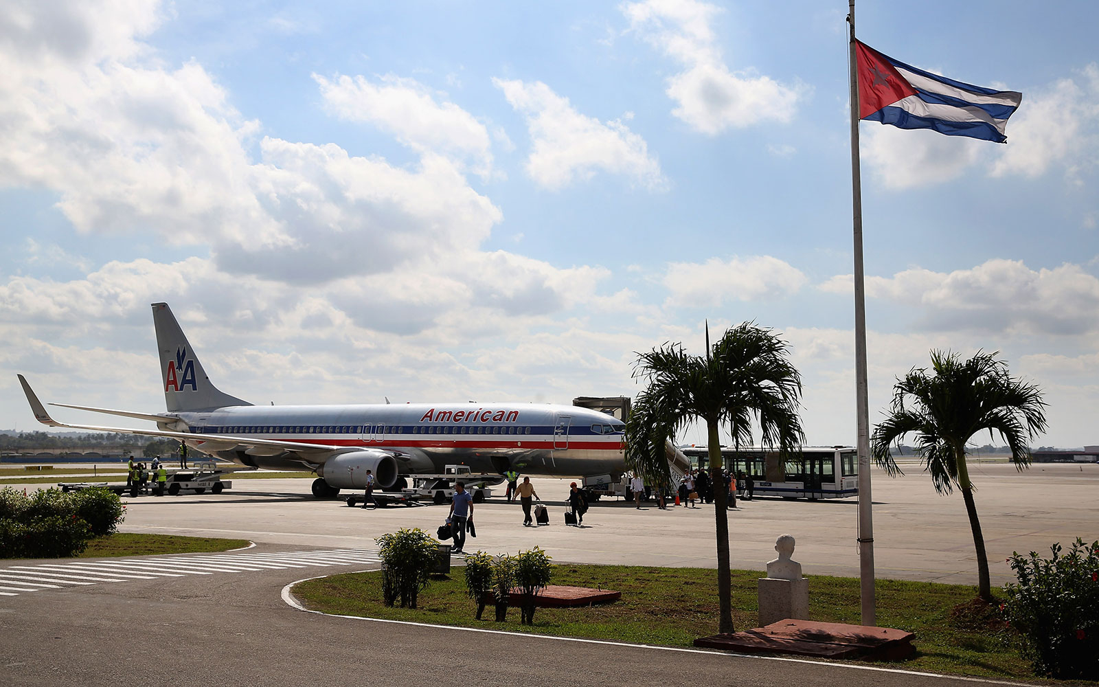 American Airlines New Flight From California To Cuba