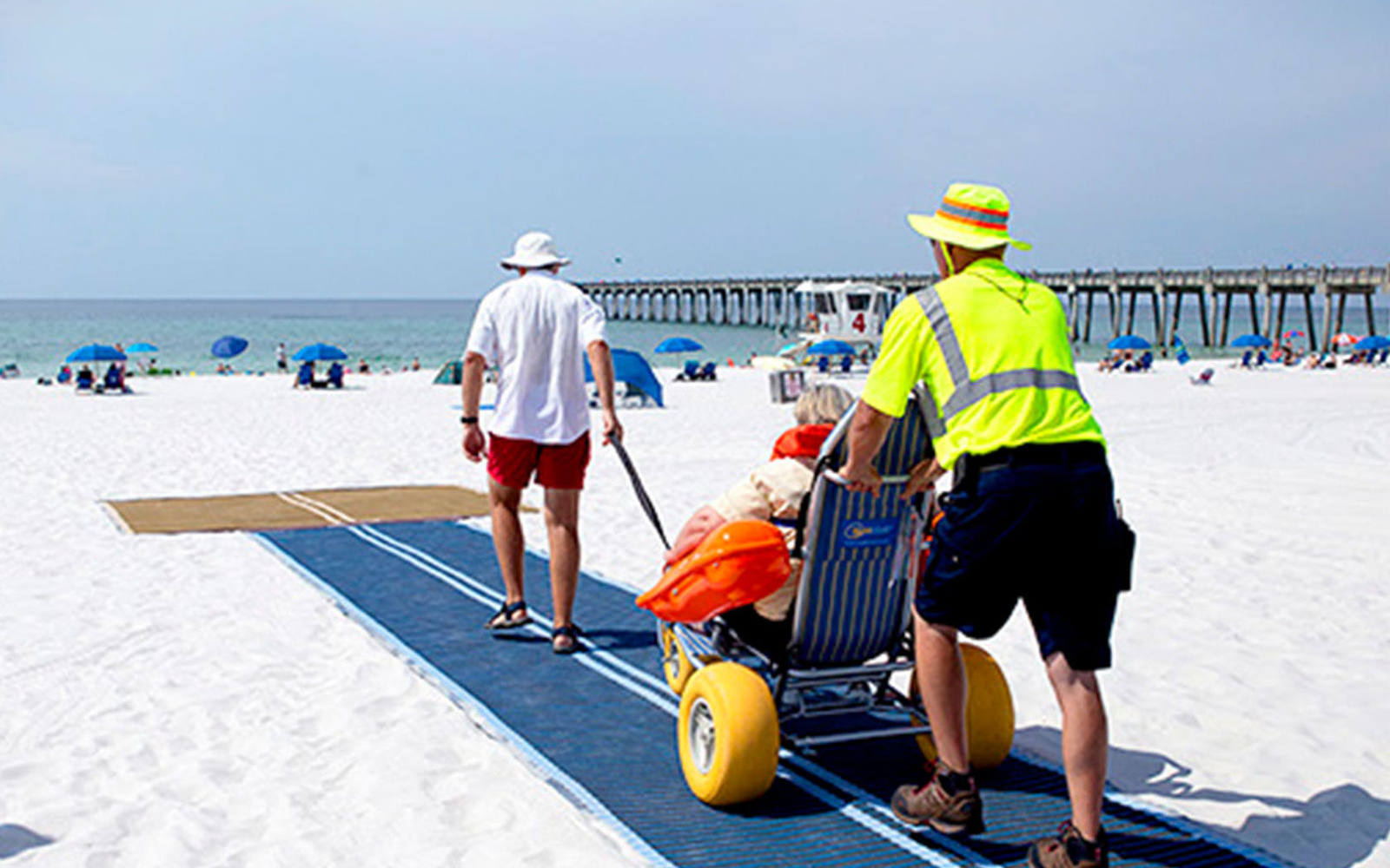 Pensacola Beaches Are Now Accessible To People In