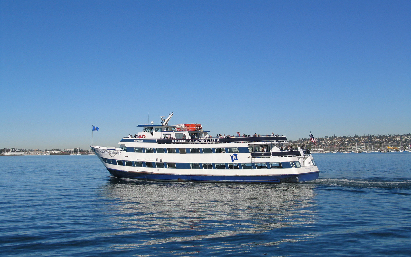 California Hornblower cruise and event boat.