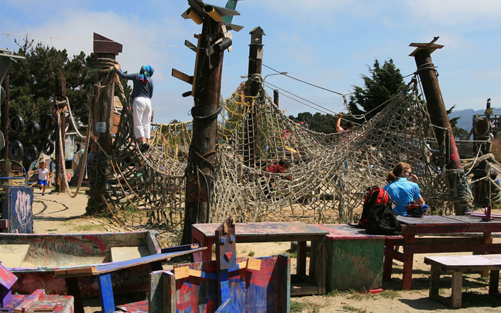 Adventure Playground, Berkeley, CA
