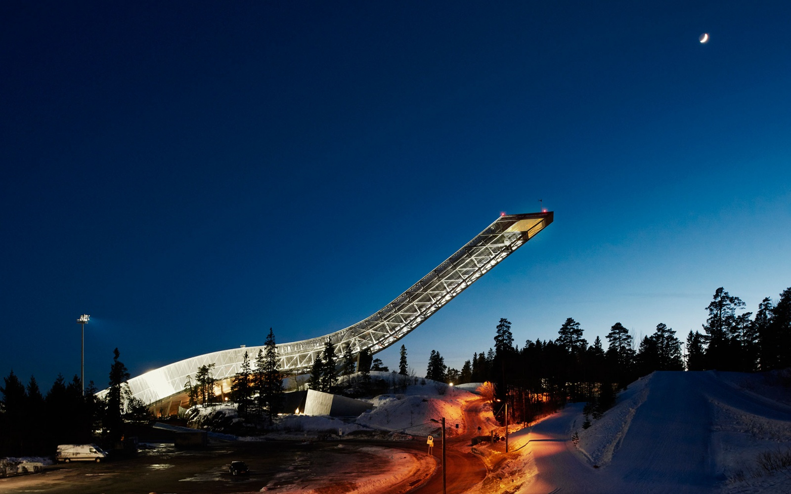 Airbnb Night at Holmenkollen, Exterior