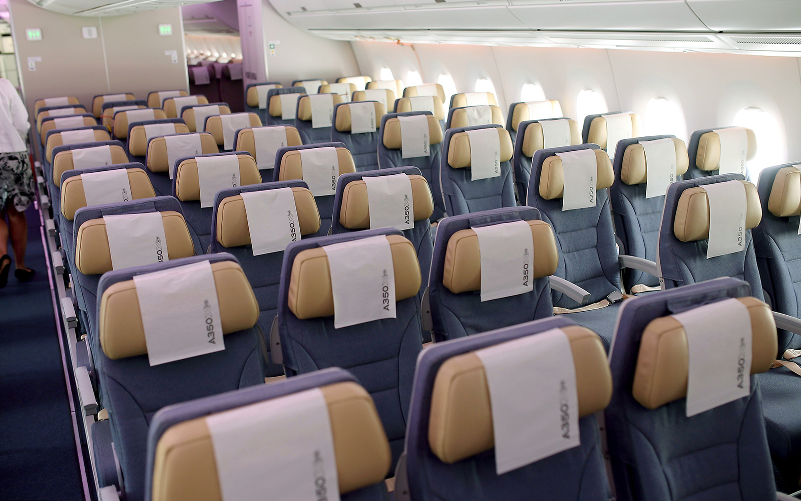 Peek Inside the New Airbus A350 XWB