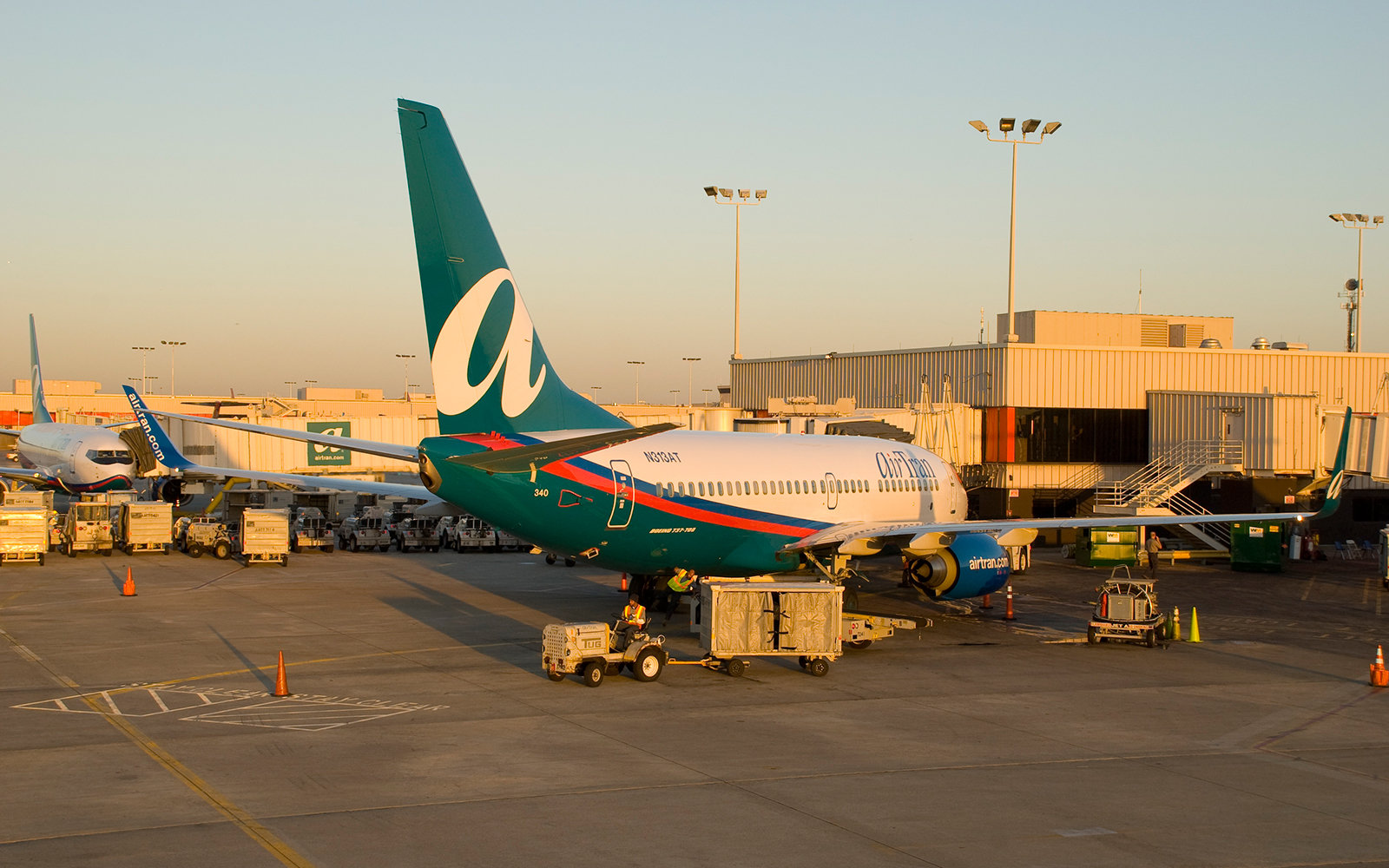 No. 8: AirTran Airways, Domestic