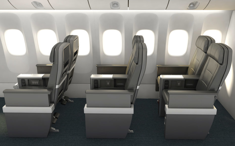 American Airlines Premium Economy Seating