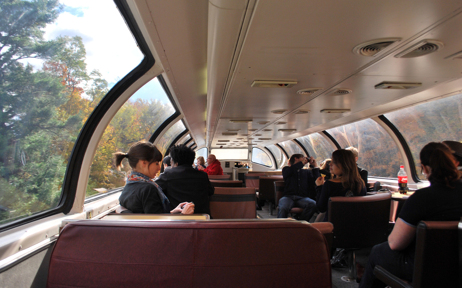 Dome Car Leaf Peeping Amtrack