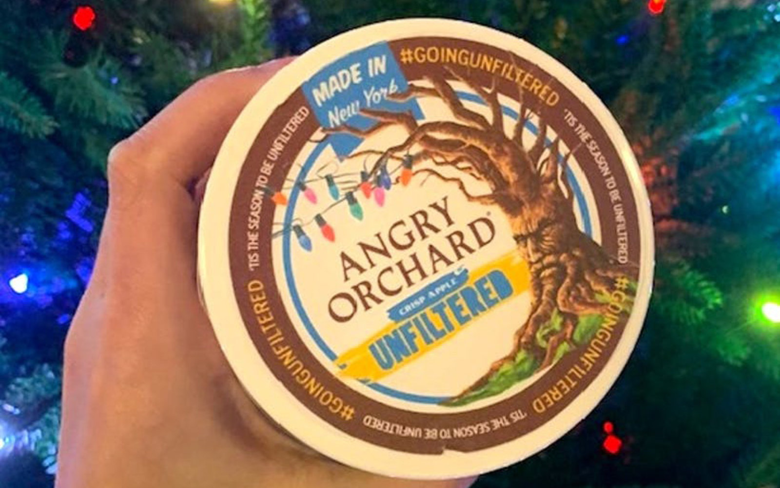 This Angry Orchard spiked ice cream is the holiday treat you didn't know you needed