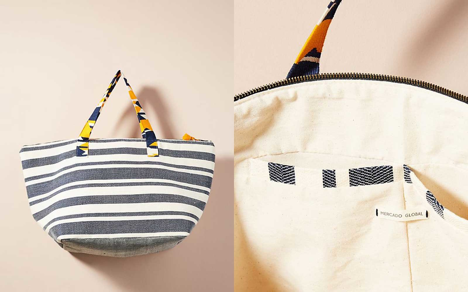 Billie Striped Tote