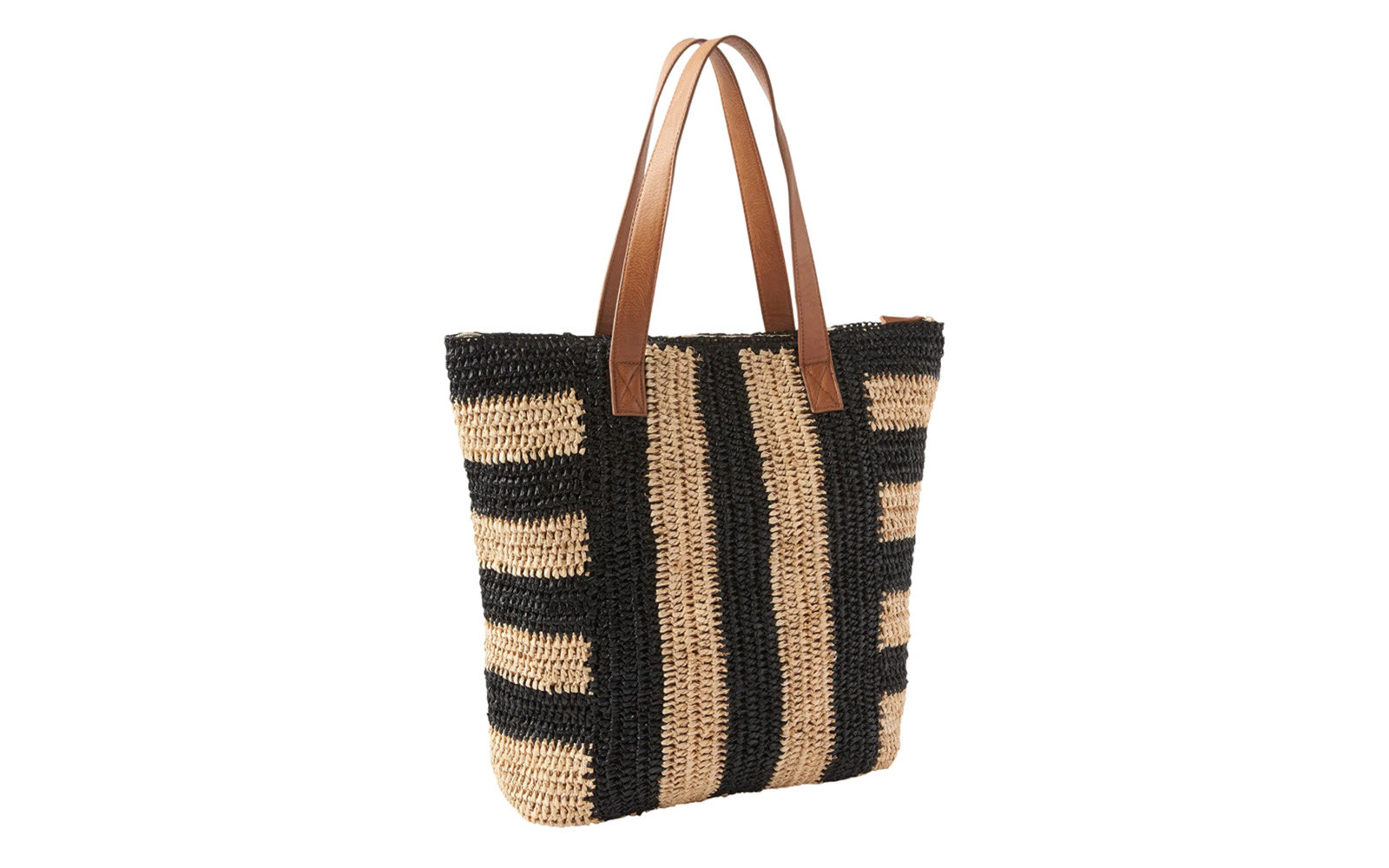 athleta straw tote