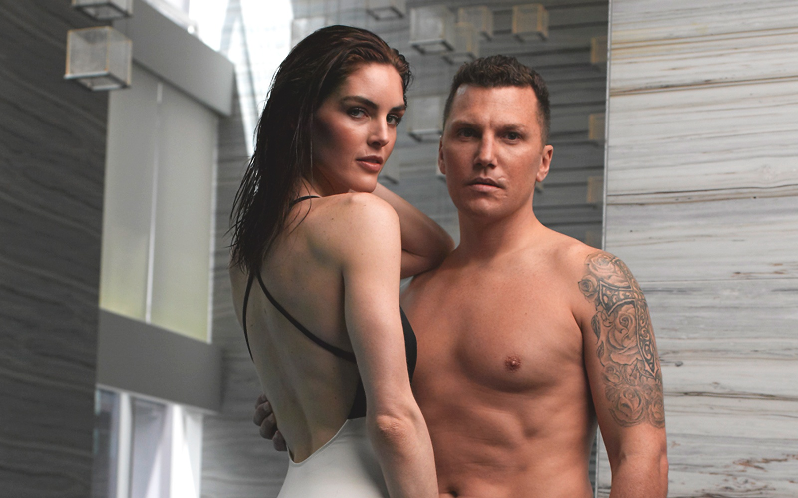 Hilary Rhoda & Sean Avery