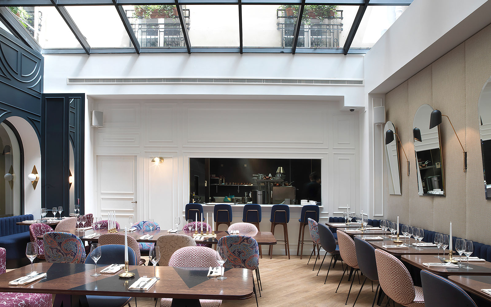 Hotel bachaumont paris refreshes dining in 2nd arrondissement travel leisure - Boutique cuisine paris ...