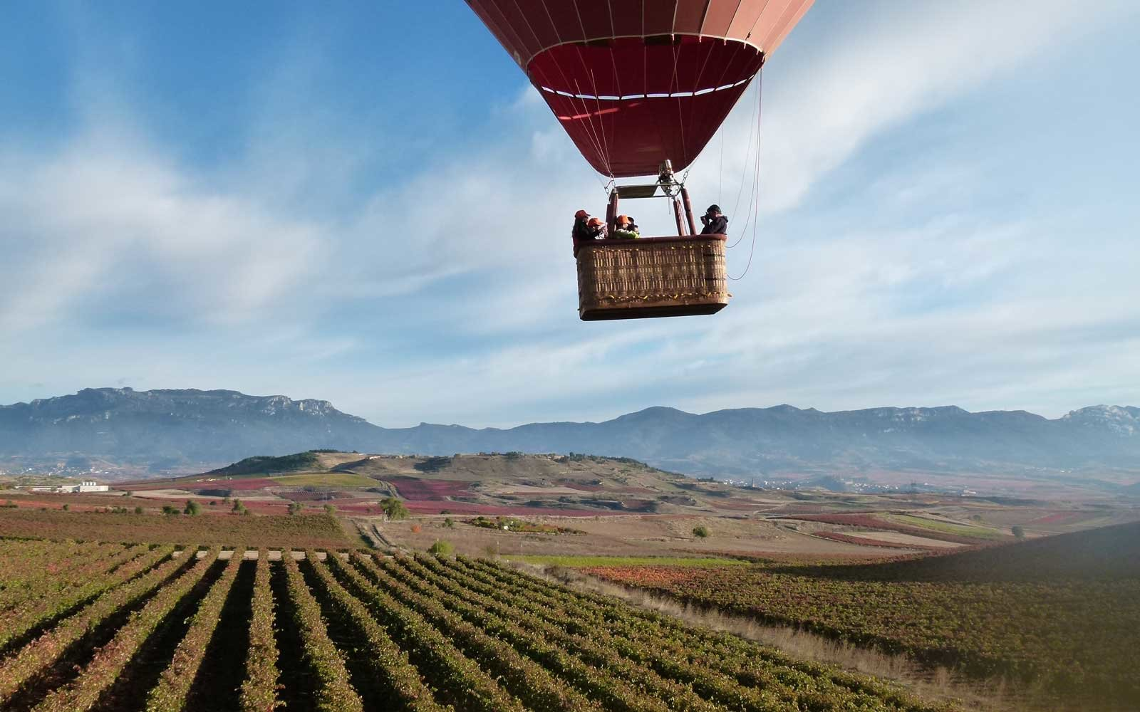 Rioja Spain Hot Air Balloon
