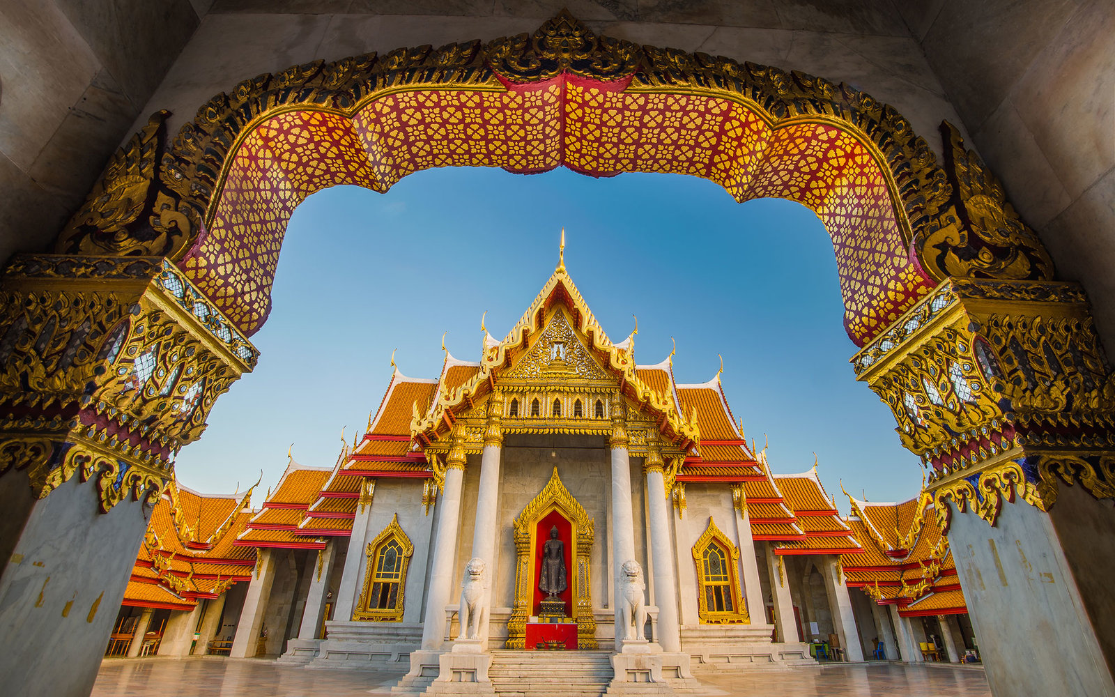 marble temple thailand