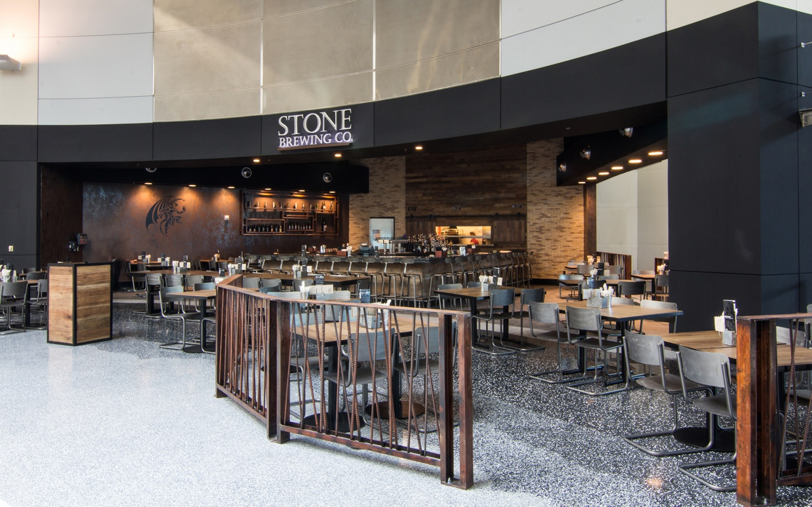 The best airport beer bars travel leisure for Stone brewery escondido