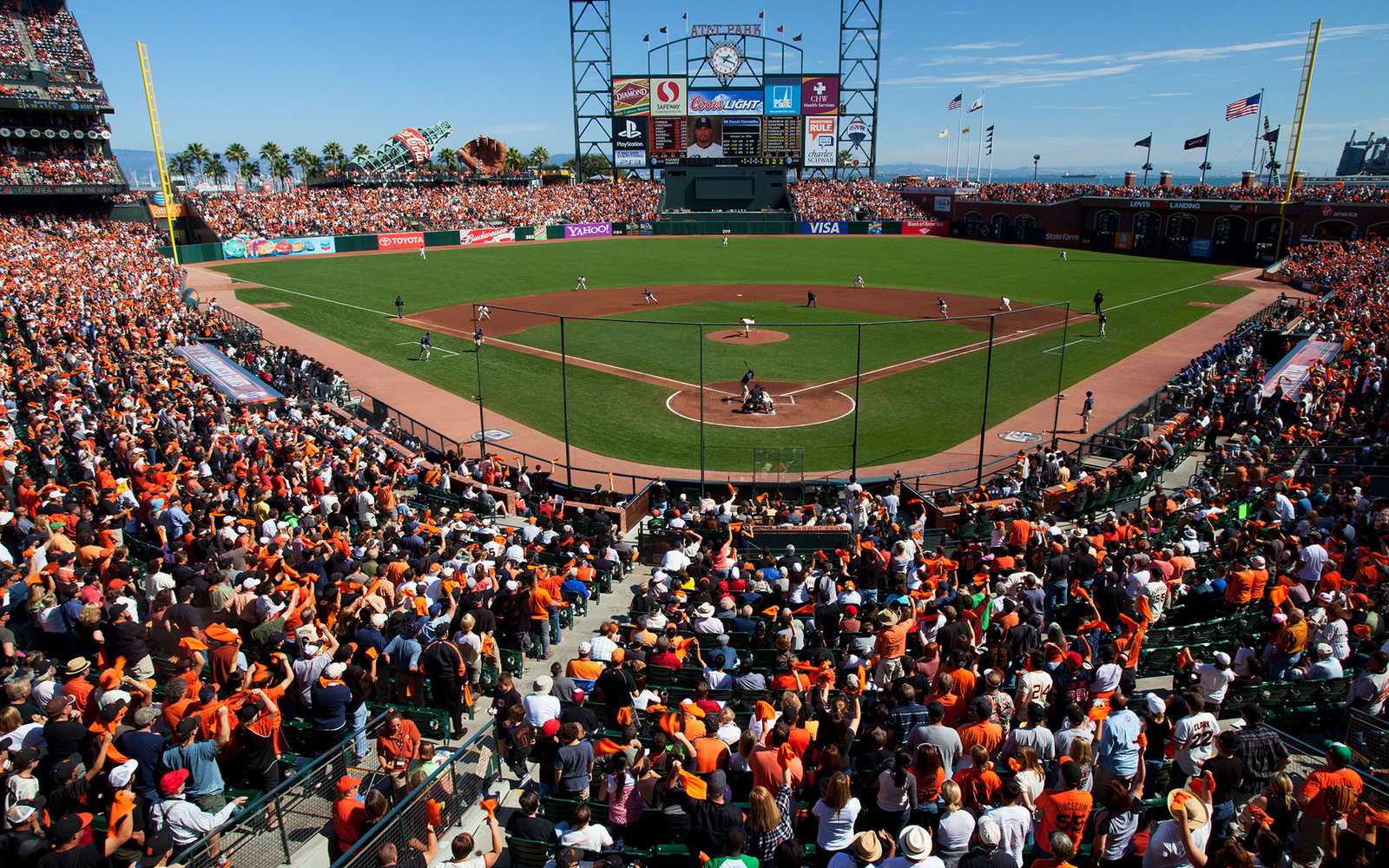 AT&T Park: San Francisco Giants