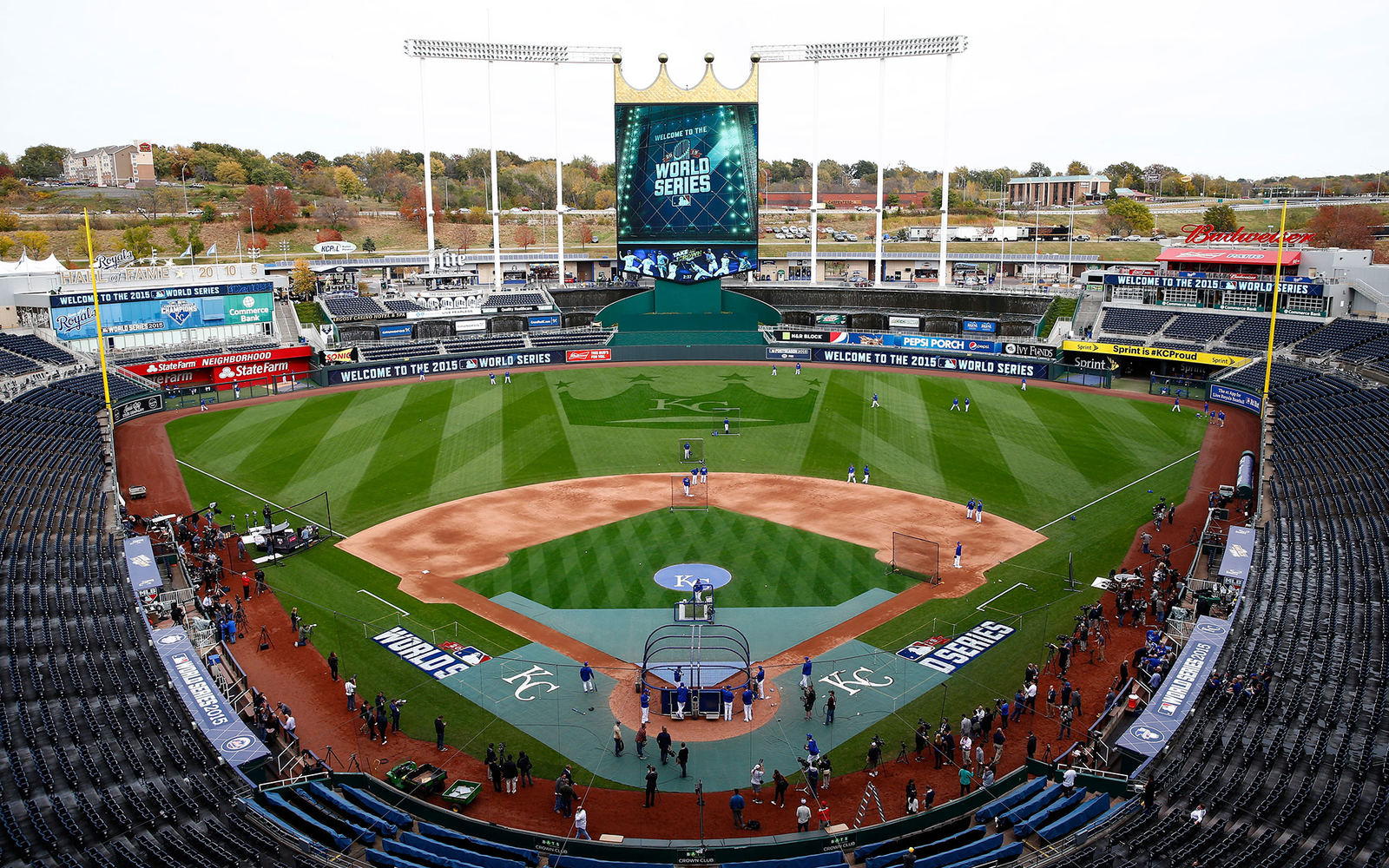 Kauffman Stadium: Kansas City Royals