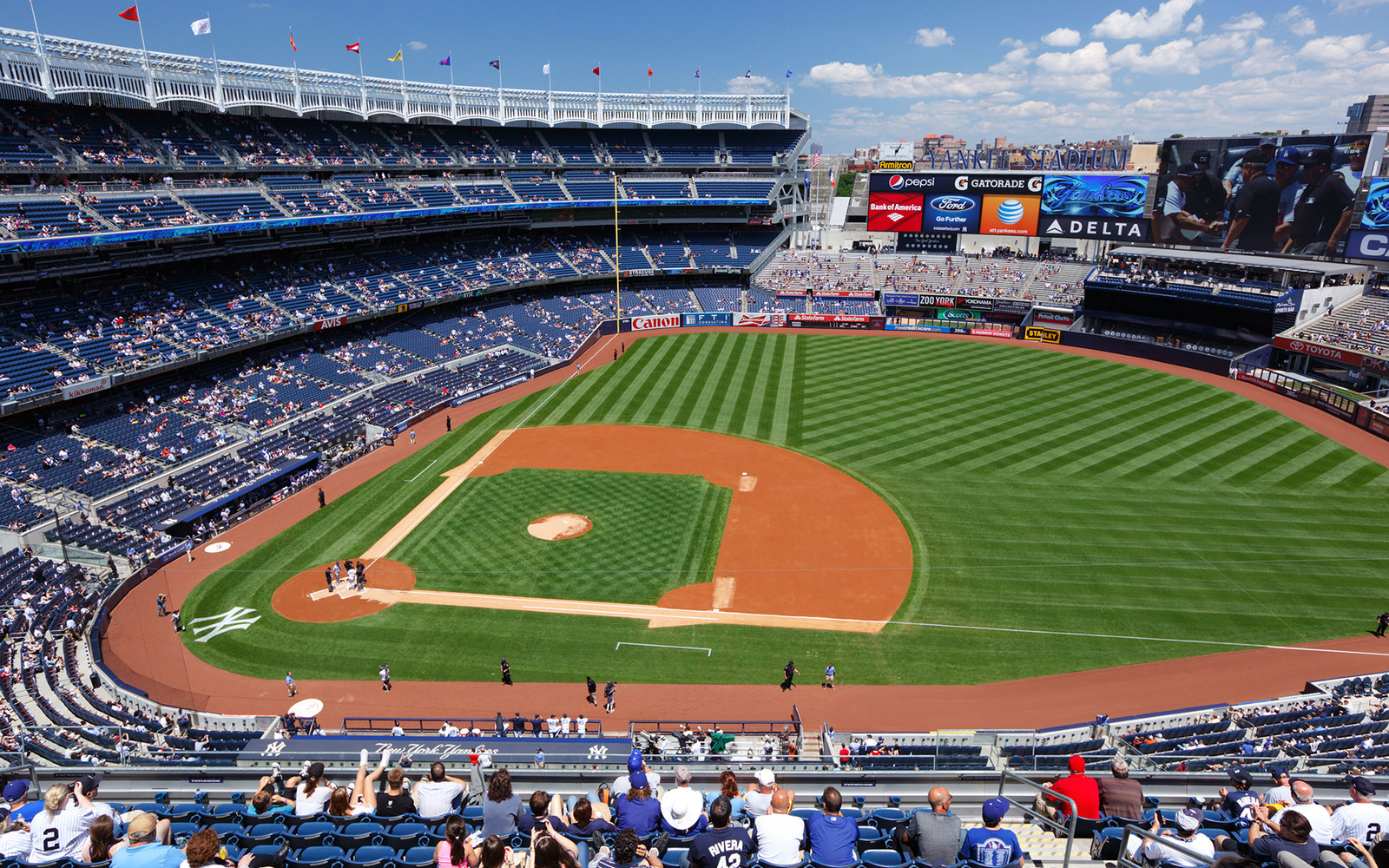 Americas best baseball stadiums travel leisure yankee stadium malvernweather Gallery