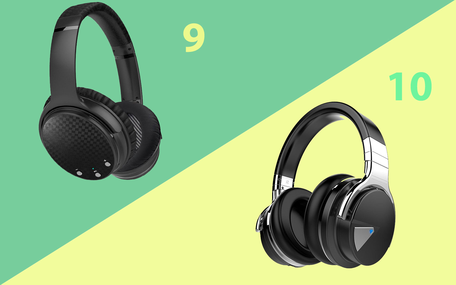 Noise canceling headphones from Hieracool and Linkwitz, under $100