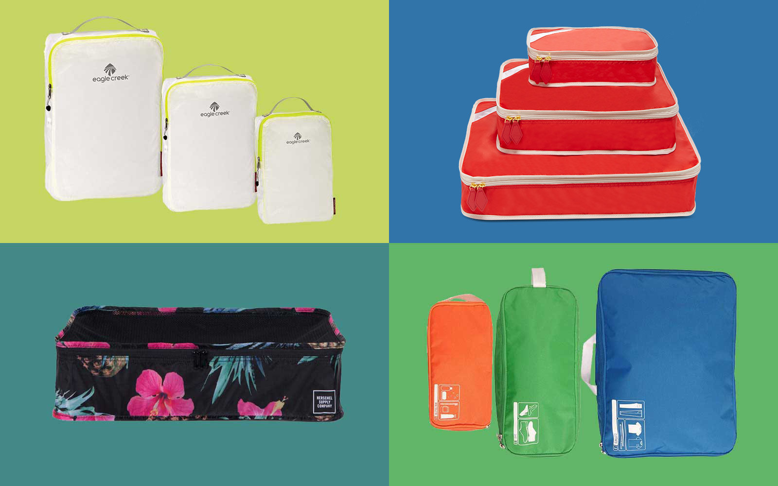 6cc75da66981 You Can Finally Organize Your Suitcase Like a Pro With These Packing Cubes