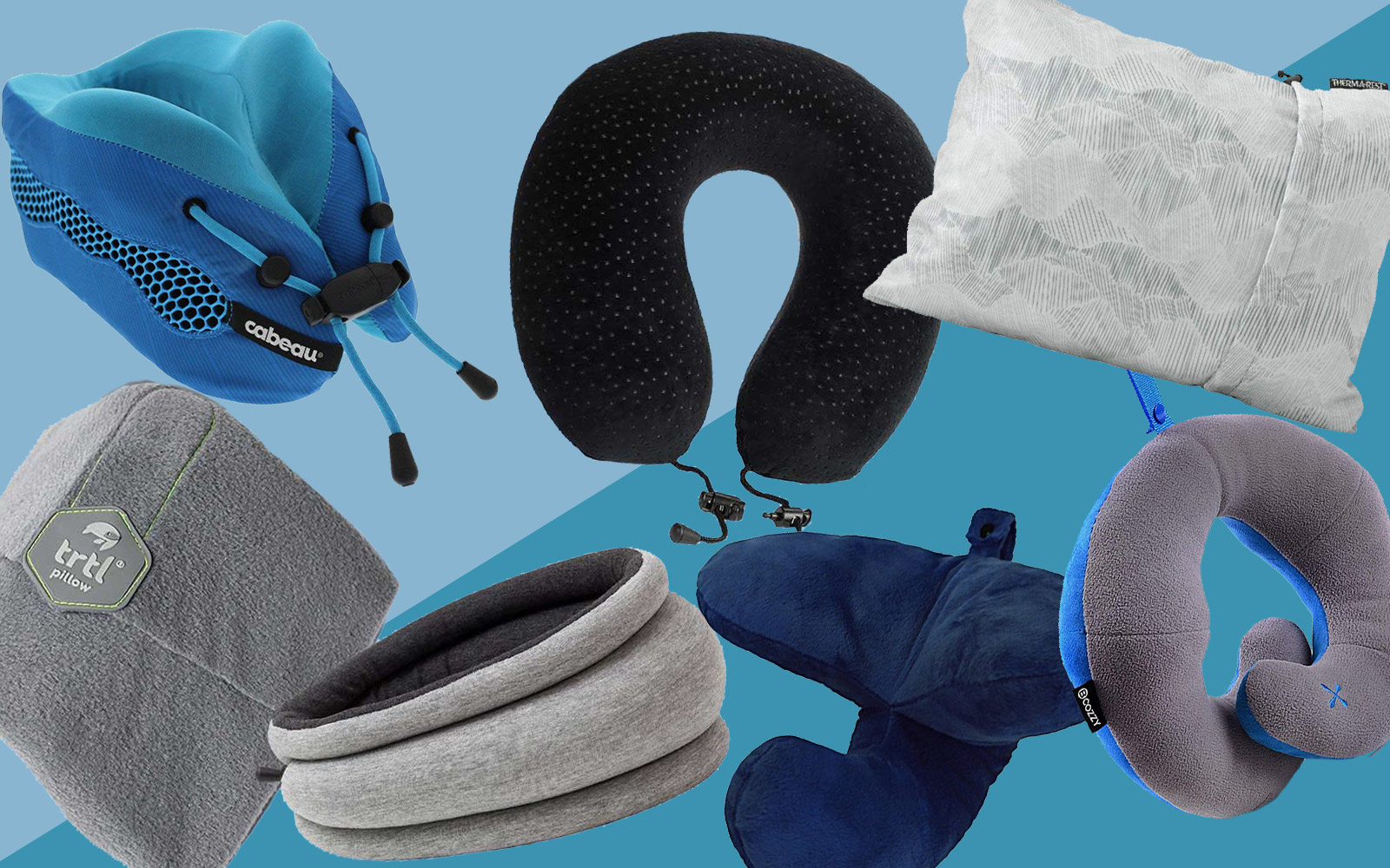 The 15 Best Travel Pillows for Every Type of Seat Sleeper