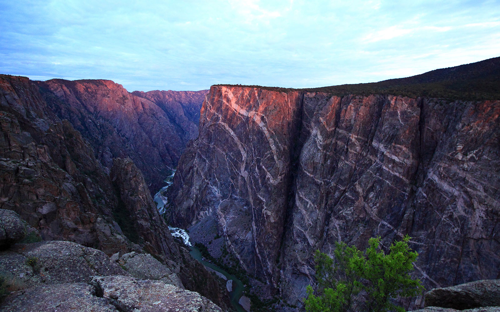 Black Canyon of the Gunnison National Park in Gunnison, Colorado