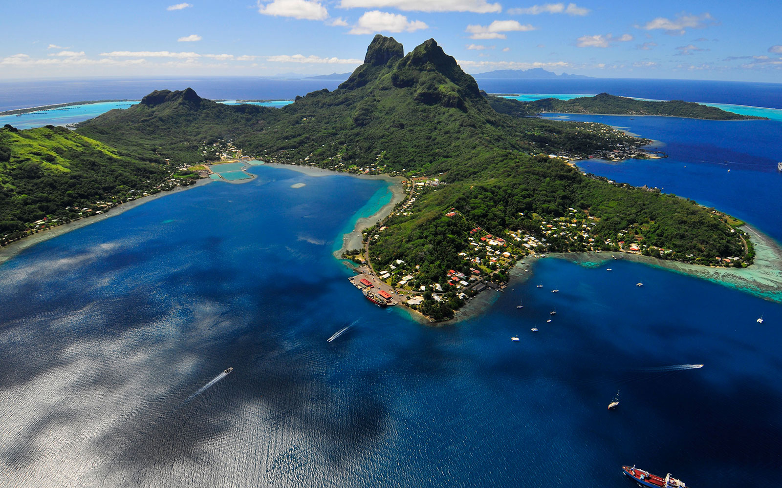 Bora-Bora romantic vacations