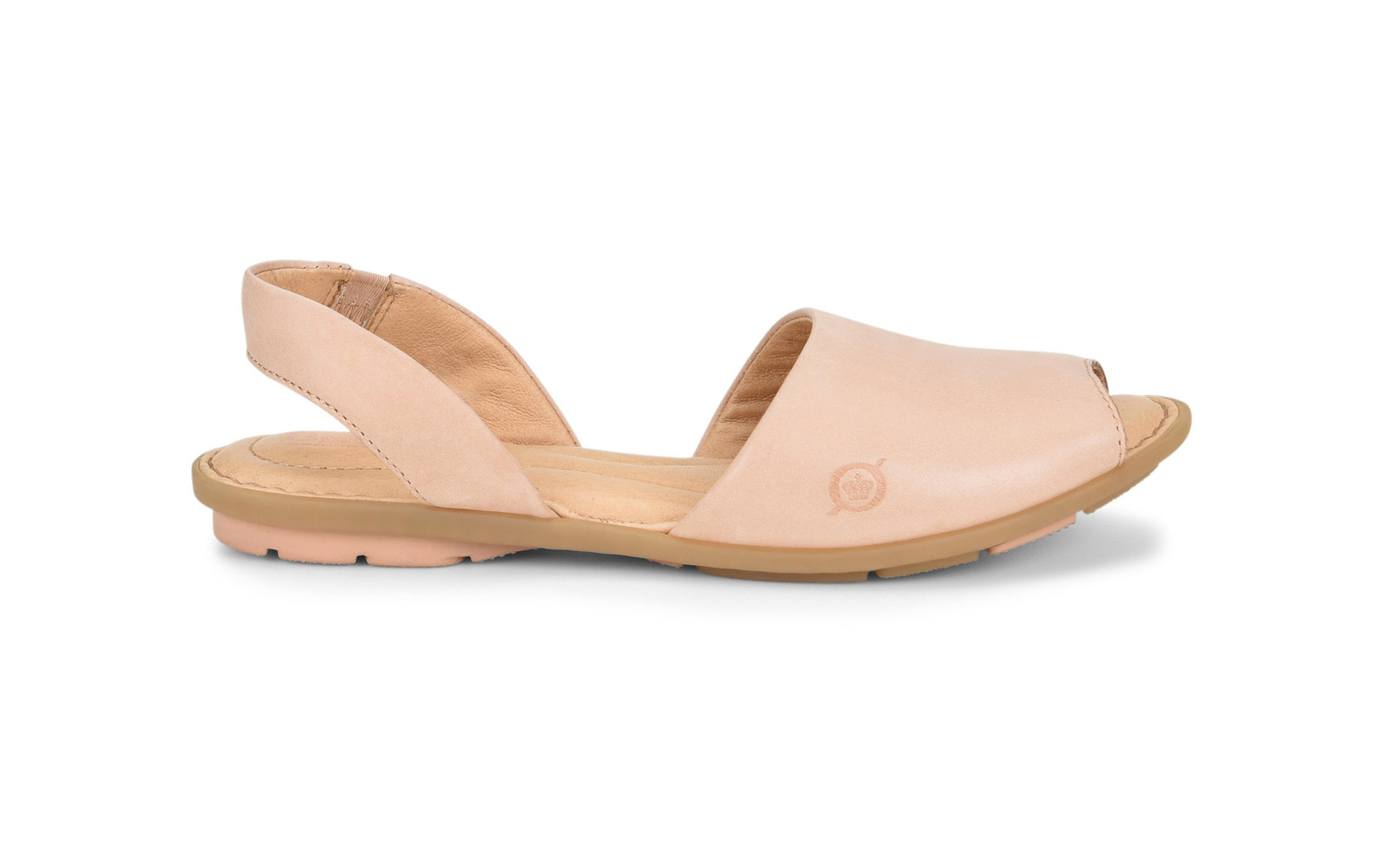 db9345cc338 The Easy Leather Slingback  Born  Trang  Sandal. comfortable born sandals