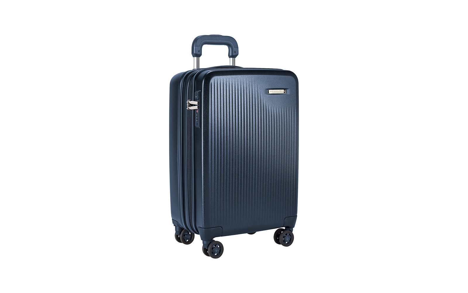 a8b6955f3c Briggs   Riley Sympatico CX Int l Carry-on Expandable Spinner. Briggs    Riley blue hard shell expandable Suitcase
