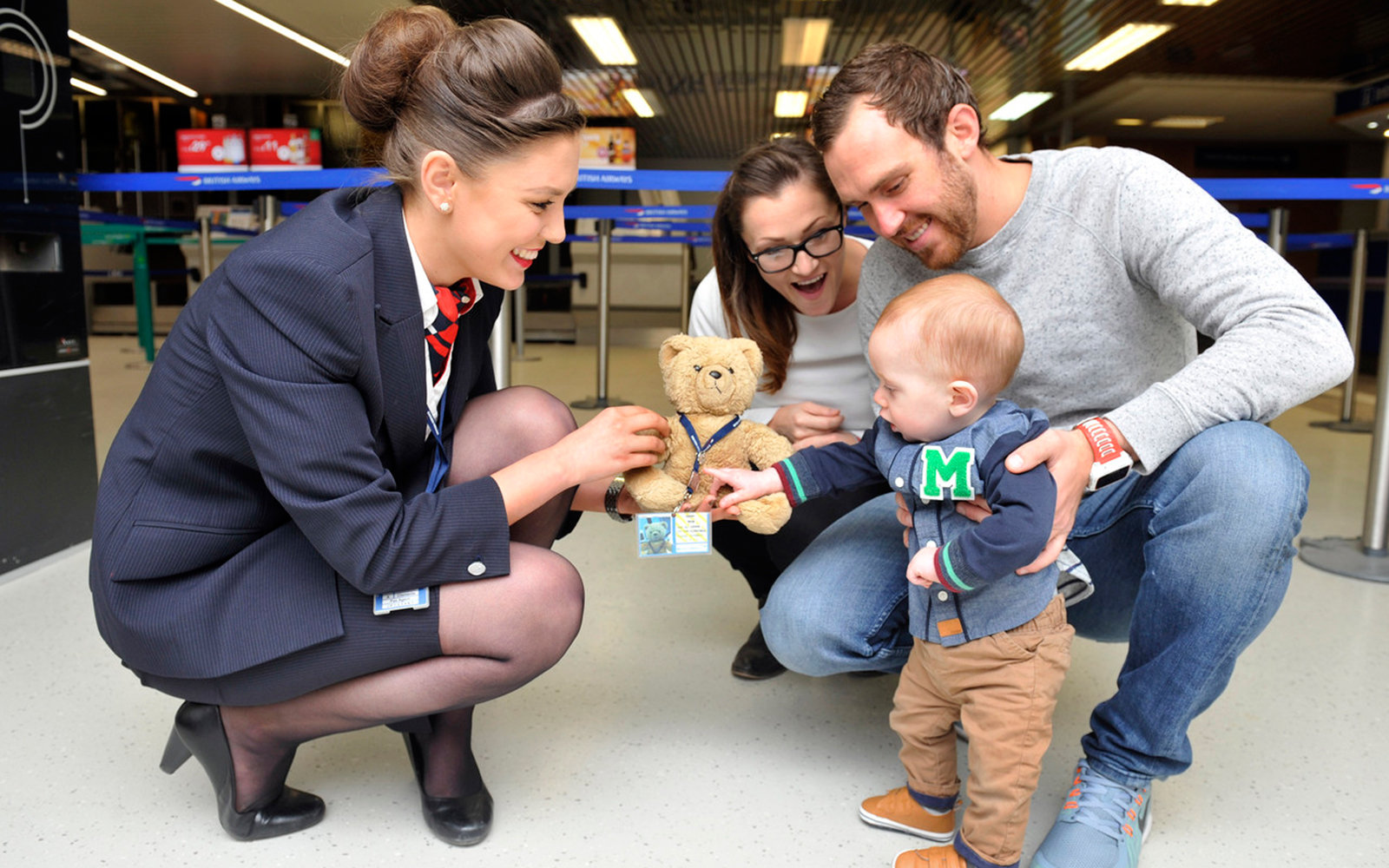 British Airways Teddy Bear name Pooh returned