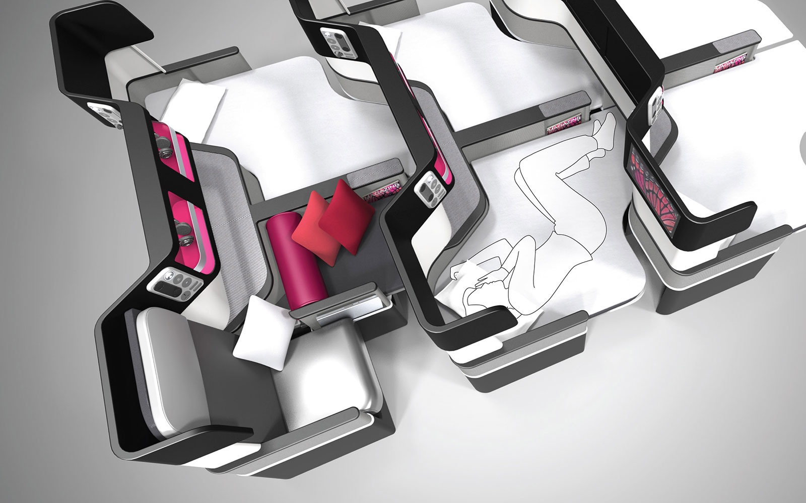 Butterfly Seat Concept – by paperclipdesign