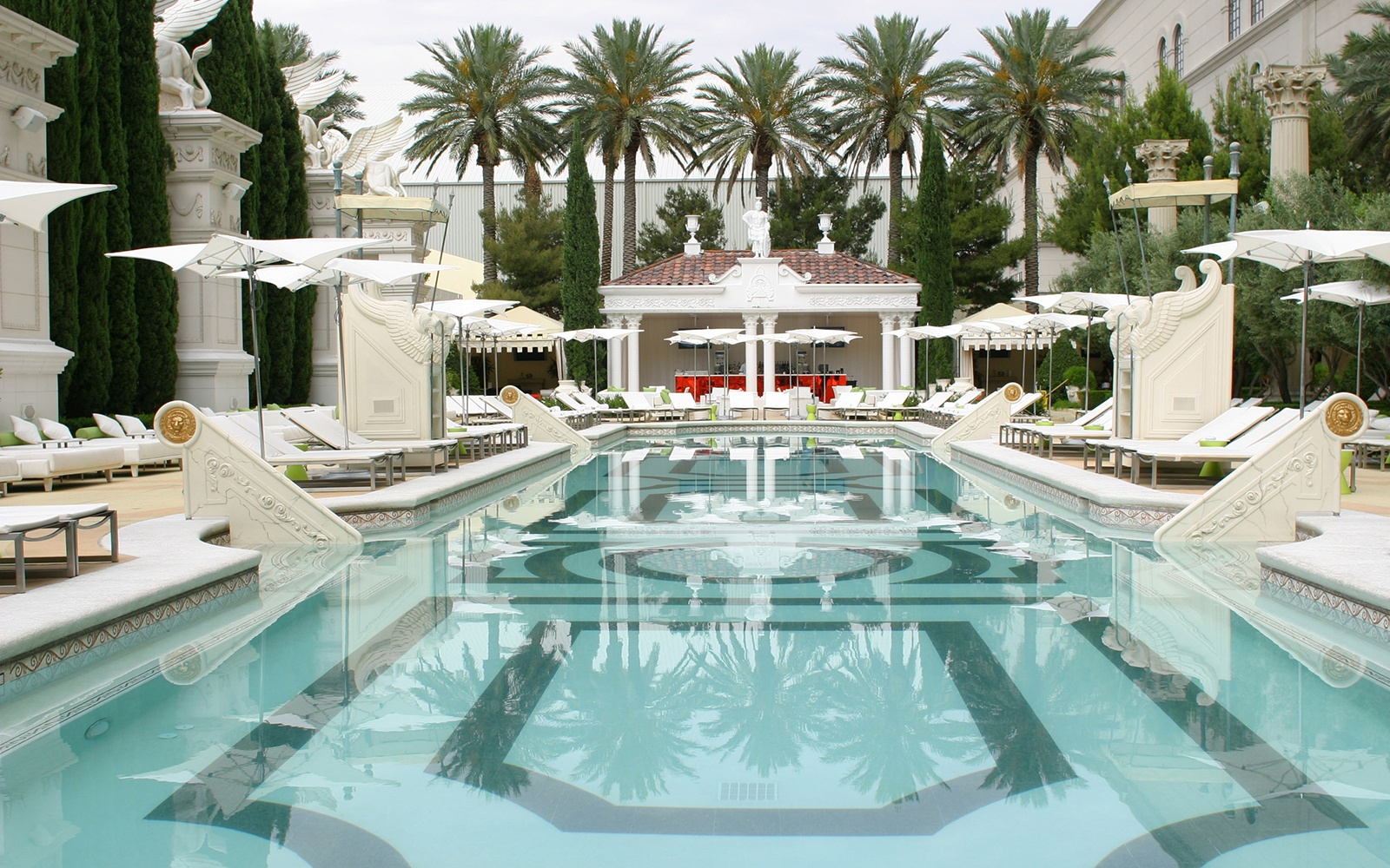 Garden of the Gods Pool Oasis Caesars Palace Vegas Best Pools
