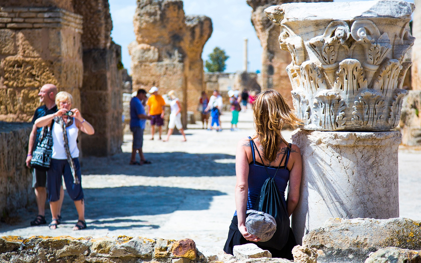 tourist in Carthage