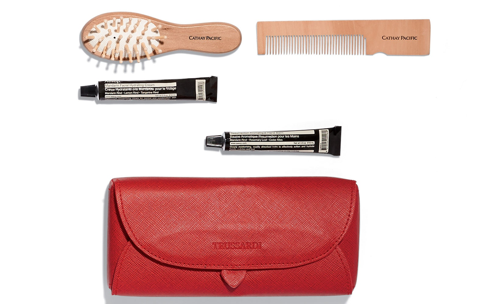 Cathay Pacific: First Class Female Travel Kit