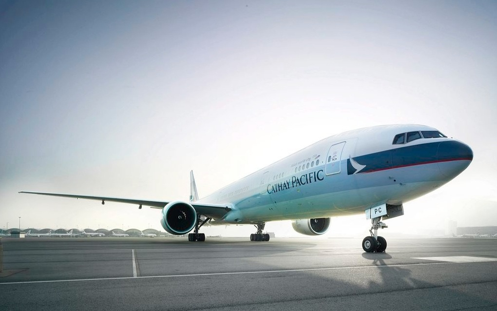 No. 4 International: Cathay Pacific Airways