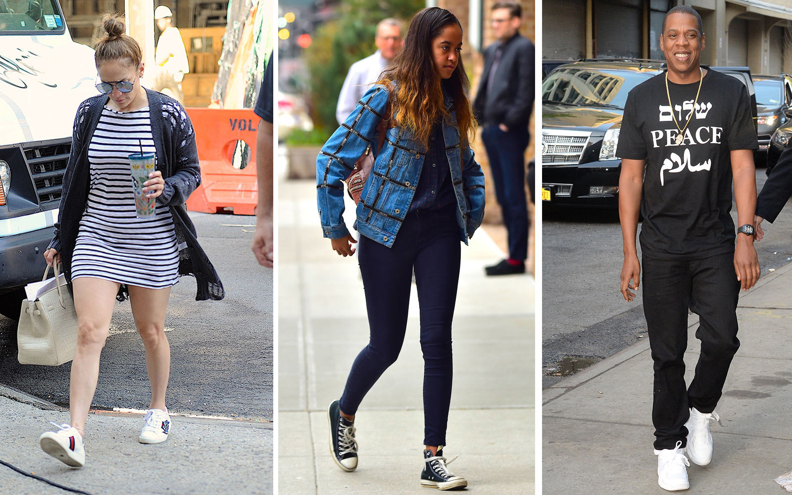 14 Sneakers Celebrities Love To Wear On The Go Travel