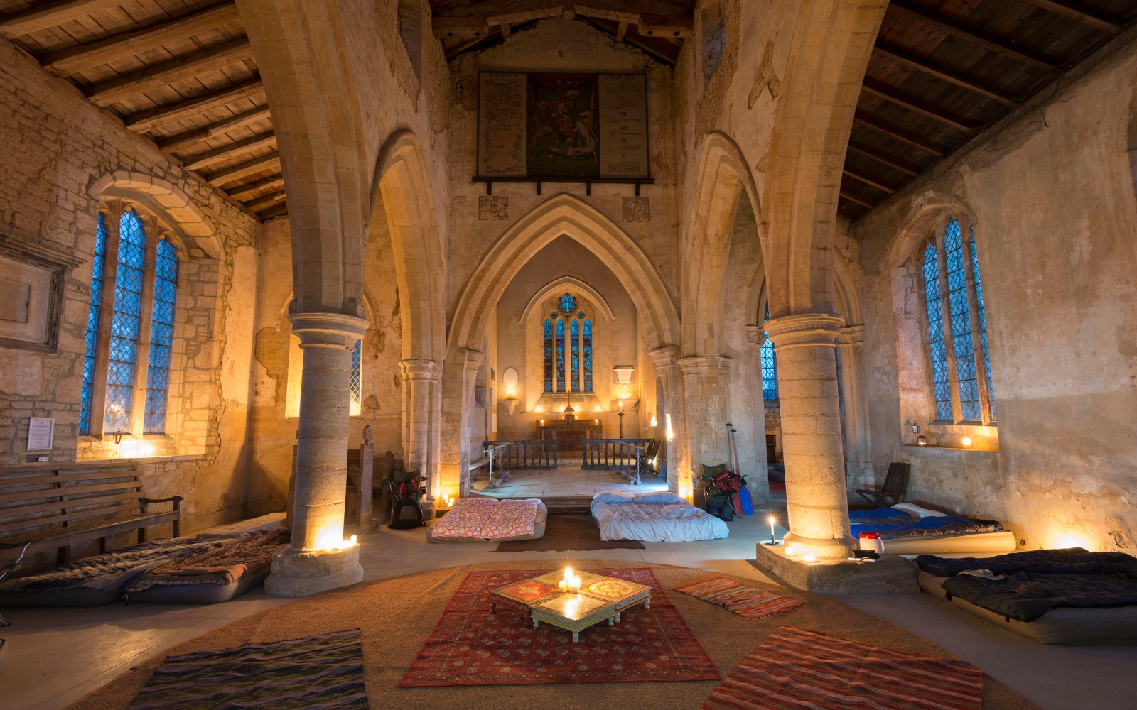 Camping in Churches: the Accommodation Trend You've Been Praying For