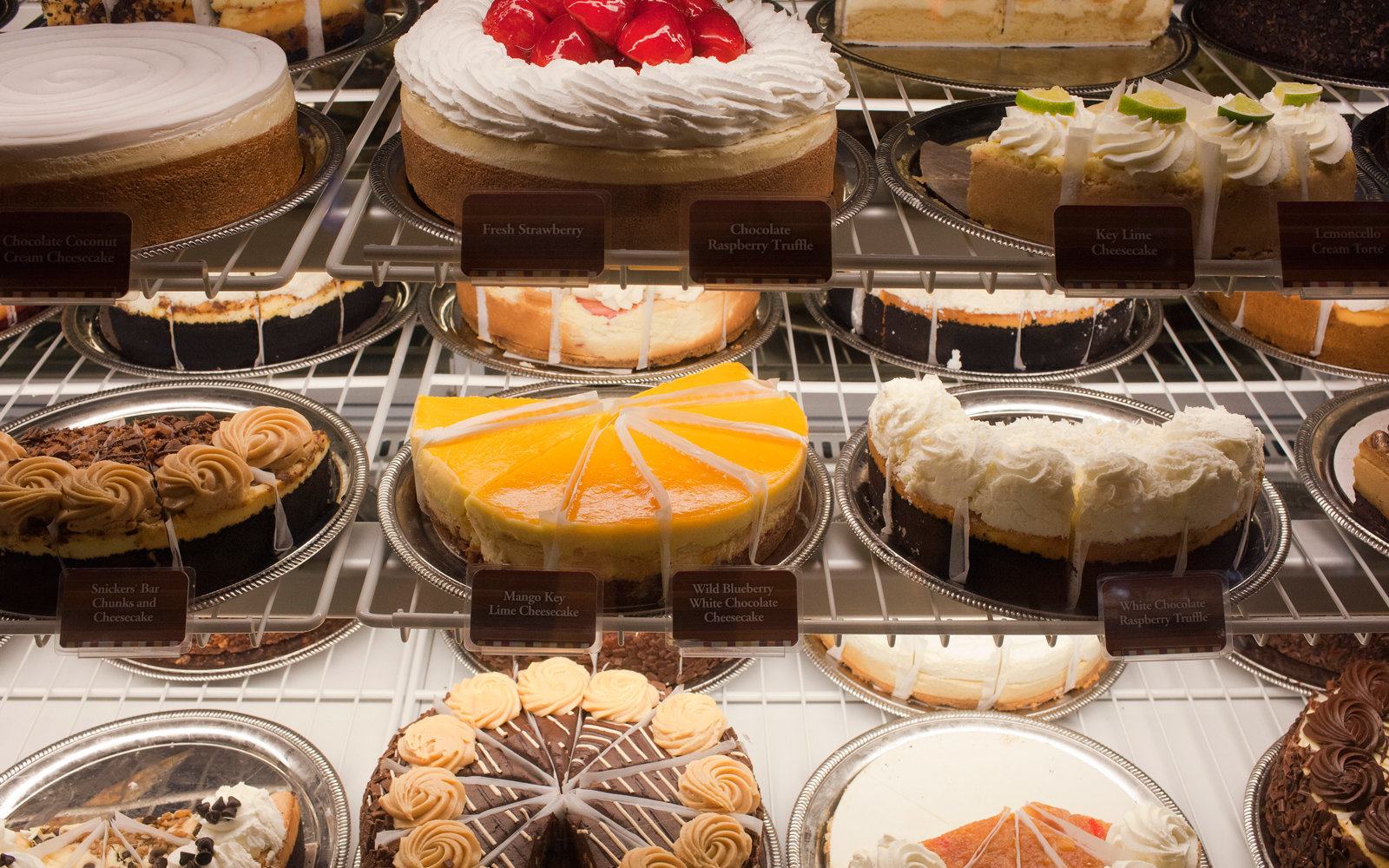 The Cheescake Factory display at the Mall of the Emirates