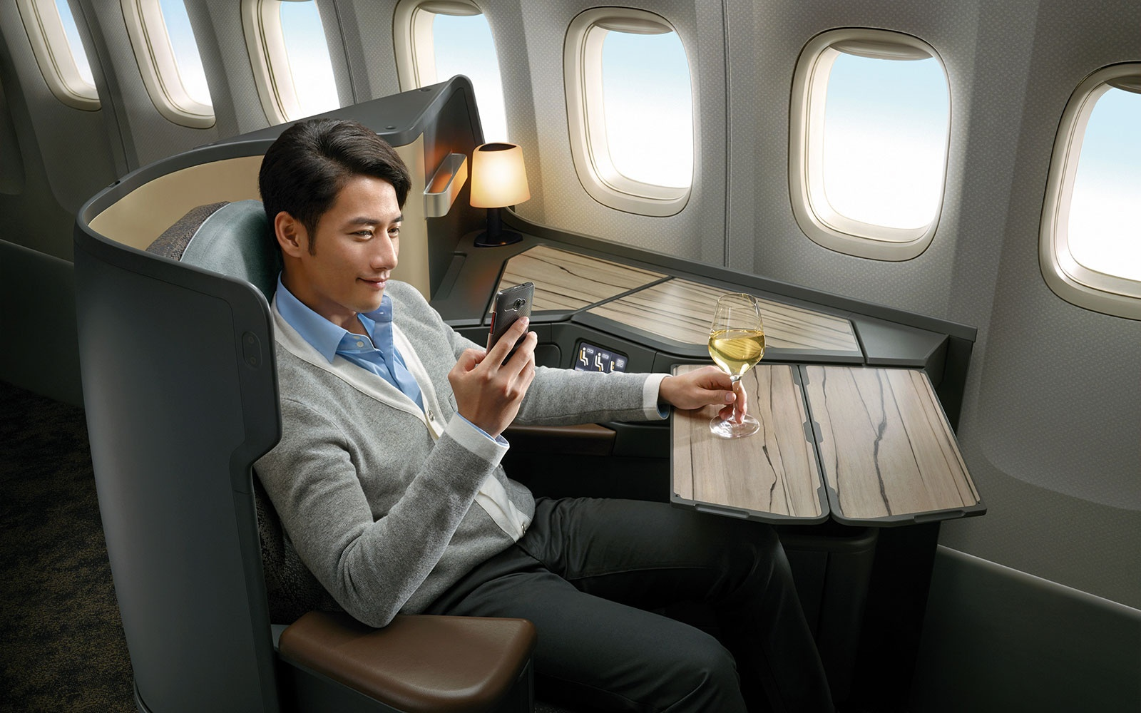 China Airlines Premium Business-Class Seat – by Ray Chen