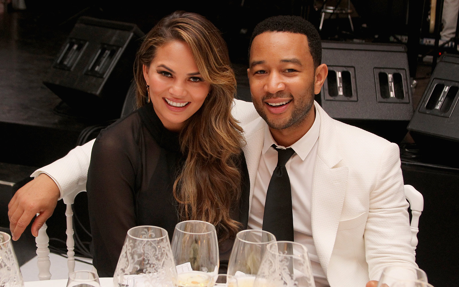 Chrissy Tiegan and John Legend