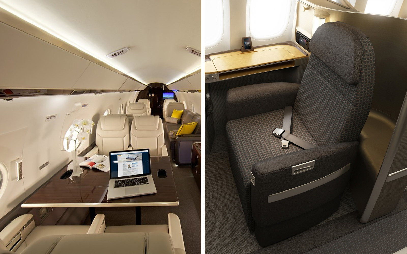 Comparing First Class Clipperjet Vs American Airlines