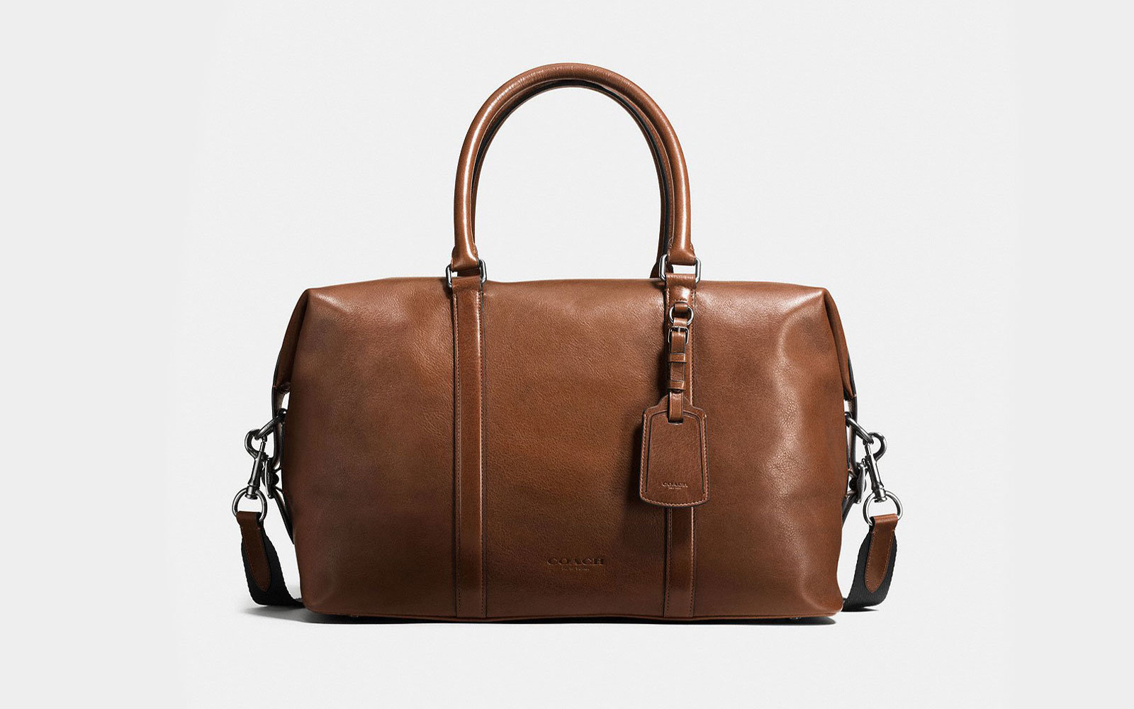 4bb40f487f Coach Duffel Bag. Coach Duffel Bag for Travel. Courtesy of Coach. For those  looking for a leather ...