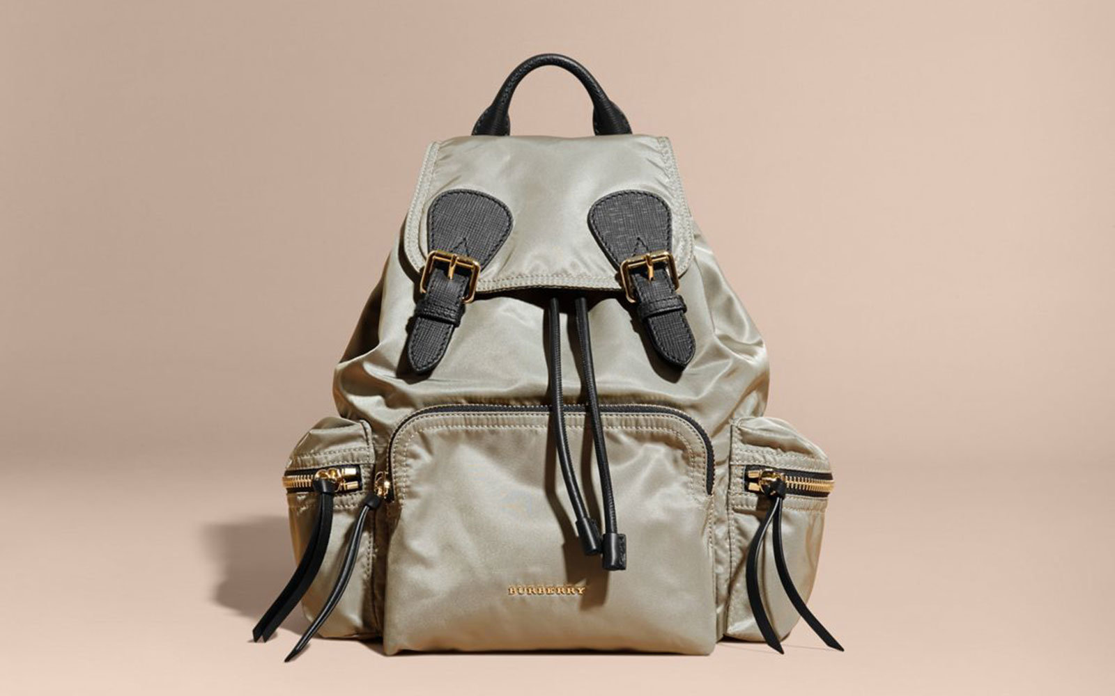 Burberry Medium Rucksack. Luxury Travel Backpacks b1a3a603f2905